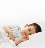 Le garçon de sommeil Images libres de droits