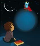 le garçon et le roi illustration stock
