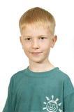 Le garçon heureux. Images libres de droits