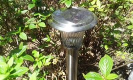 Le gardenlight solaire Image libre de droits