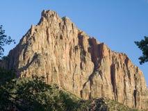 Le gardien, stationnement national de Zion, Utah Photographie stock libre de droits