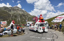 Le Gaulois Caravan - Tour de France 2015 Royalty Free Stock Photos