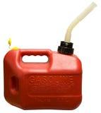 Le gaz peut Images stock
