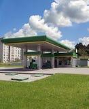 Le gaz réapprovisionnent en combustible la gare image libre de droits