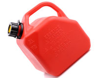 Le gaz rouge peut Photos libres de droits