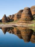 Le gâchis gâche chez Purnululu, Australie Photos stock