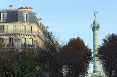Le genie de la bastille in  Paris Stock Photo