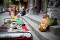Le gente cinesi Handcraft Fotografia Stock Libera da Diritti