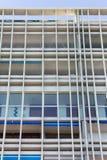 Le geometrie di una costruzione moderna Fotografie Stock