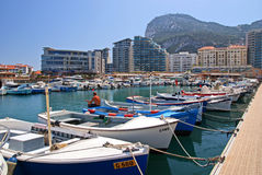 Le Gibraltar Photographie stock