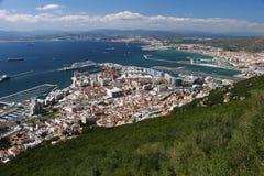 Le Gibraltar de ci-avant Images libres de droits