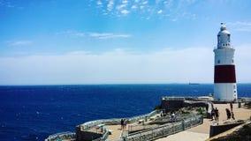 Le Gibraltar, phare Images stock