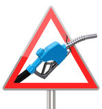 Le gicleur d'essence Image libre de droits