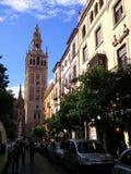 Le Giralda en Séville photographie stock libre de droits