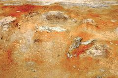 Le gisement de lave de Leirhnjukur Photos libres de droits