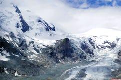 Le glacier de Gorner Image libre de droits