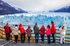 Le glacier de Perito Moreno images stock