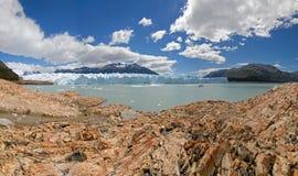 Le glacier de Perito Moreno dans le Patagonia, Argentine. photo stock
