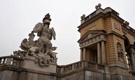Le Gloriette à Vienne Image stock