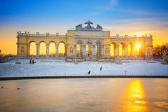 Le Gloriette dans le palais de Schonbrunn, Vienne photographie stock libre de droits