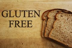 Le gluten libèrent le pain Image libre de droits