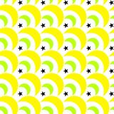 Le gocce di limone Candy Moons il modello senza cuciture illustrazione di stock