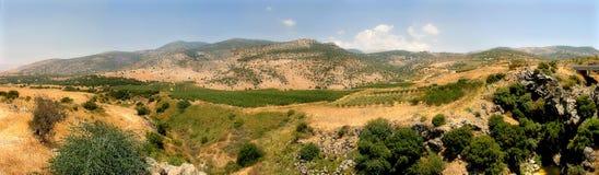 Le Golan Heigts. Image libre de droits