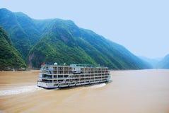 Le gole di Yangtze fotografie stock libere da diritti