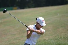 Le golf de Lorena Ochoa Evian maîtrise 2006 Photo libre de droits