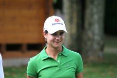 Le golf de Lorena Ochoa Evian maîtrise 2006 Image libre de droits