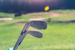 Le golf est un sport qui est populaire autour du monde et bon pour la santé image libre de droits