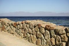 Le golfe d'Aqaba Image libre de droits