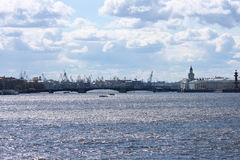 Le Golfe de la Finlande Photos libres de droits