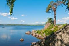 Le Golfe de la Finlande Photo libre de droits