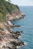 Le golfe de Thaïlande à Pattaya Image libre de droits