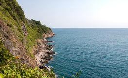 Le golfe de Thaïlande à Pattaya Photos libres de droits