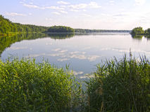 Le Golfe du Dnieper kiev Photos stock