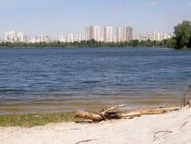 Le Golfe du Dnieper kiev Image libre de droits