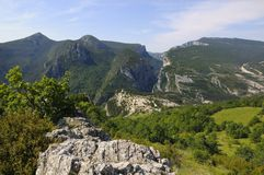 Le Gorges du Verdon, France Royalty Free Stock Photography