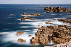 Le Gouffre in Bretagne, France Royalty Free Stock Images