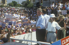 Le Gouverneur Bill Clinton Photos libres de droits
