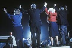 Le Gouverneur Bill Clinton Photo libre de droits
