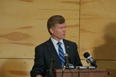 Le Gouverneur Bob Mc Donnell VA Photo stock