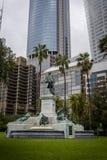Le Gouverneur Phillip Fountain, Sydney, NSW, Australie photographie stock