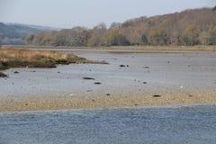 Le Goyen river in Pont-Croix Stock Images