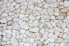 Le grès mure le blanc Photo libre de droits