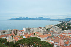Le grand asile de Cannes Images stock
