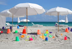 Le grand bac à sable Photographie stock