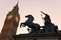 Le grand Ben, Londres, R-U. Photographie stock