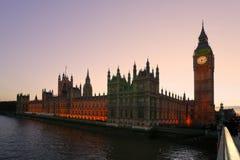 Le grand Ben, Londres, R-U. Photos stock